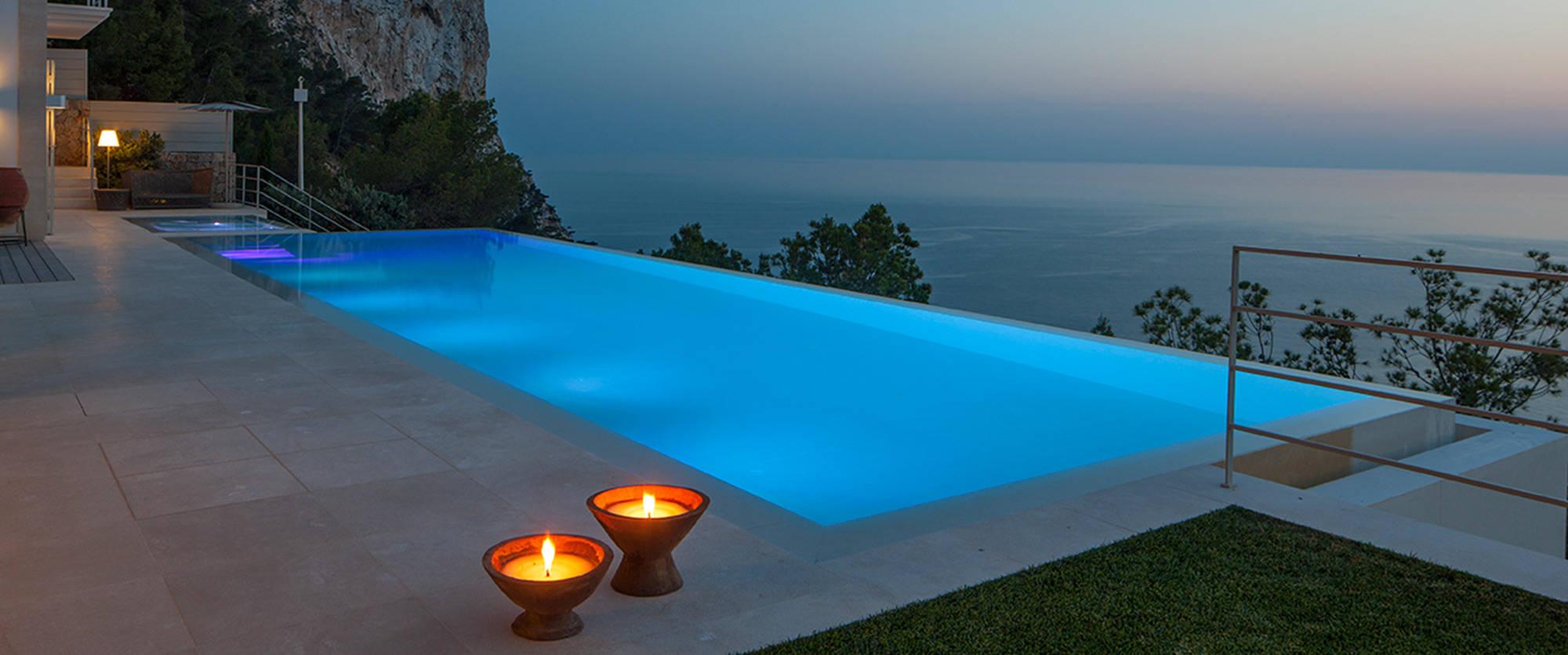 Luxus pool  Luxuspool mit endloser Weite
