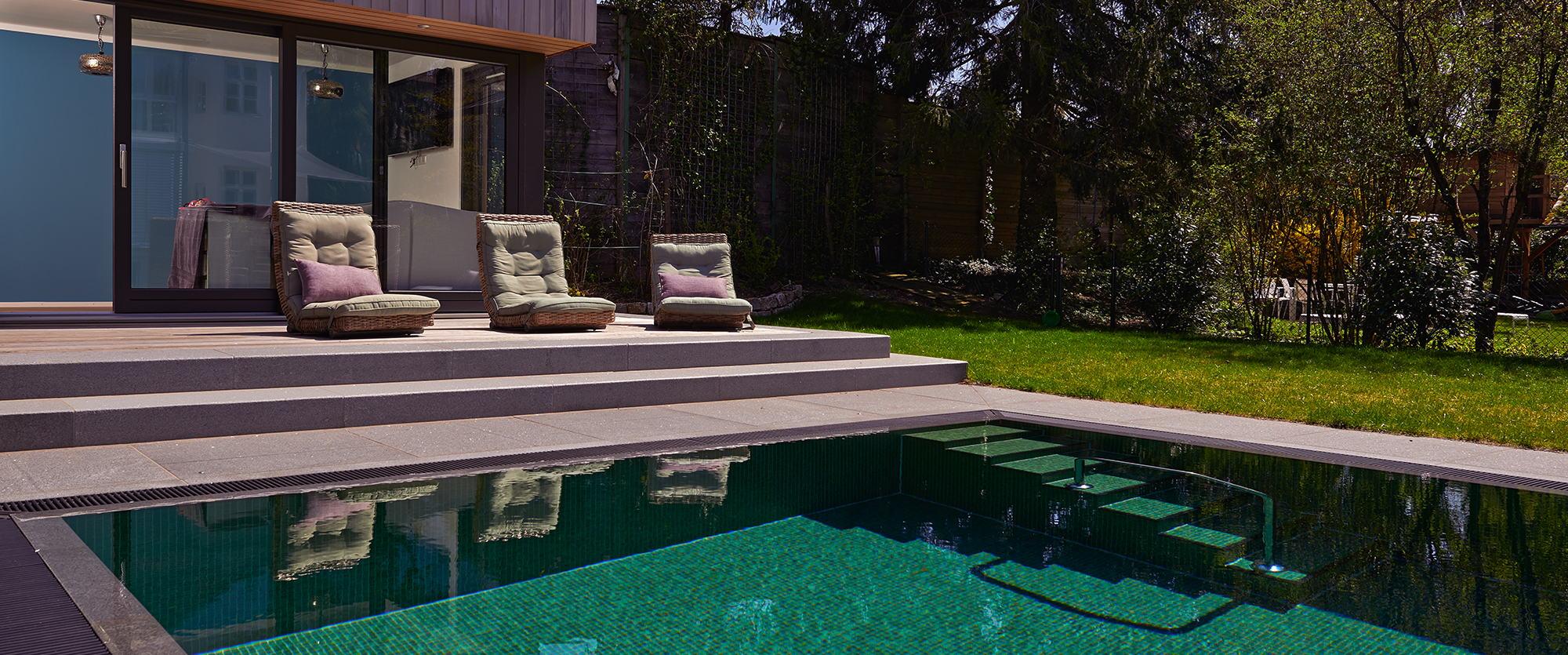 Gr ne oase for Zen terras layouts