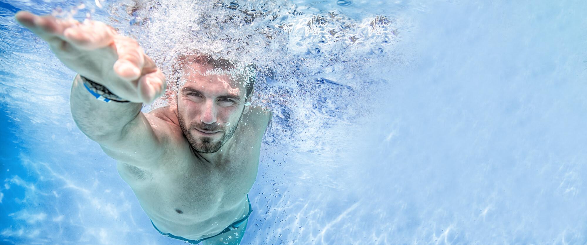 Плавать против противоточной системы Ospa-PowerSwim
